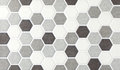 Mosaic marble hexagonal tiles Royalty Free Stock Photo