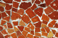 Mosaic ornament, Barcelona Stock Photography