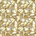 Mosaico patrón de roto azulejo