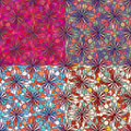 Mosaic seamless pattern texture vector Royalty Free Stock Image