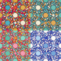 Mosaic seamless pattern texture vector Stock Photography