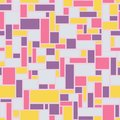Mosaic seamless from rectangles - vector illustration Royalty Free Stock Photo
