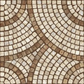 Mosaic texture. Royalty Free Stock Photo