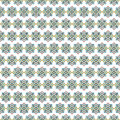 Mosaic tile arabic seamless pattern background