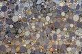 Mosaic tile of rocks Royalty Free Stock Photo