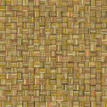 Mosaic tiled grunge orange wood timber plank backdrop tile Royalty Free Stock Photo