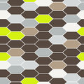 Mosaic tiles seamless vector pattern.