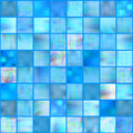 Mosaic tiles, vector Royalty Free Stock Photography