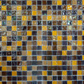 Mosaic wall a in a bathroom Stock Images