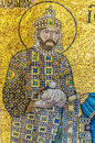 The mosaics that adorn the hagia sofia mosque are indeed a work of art Stock Photography