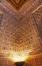 Mosaics ambassador room alcazar royal palace sevil corner seville andalusia spain originally a moorish fort oldest still in Stock Photography