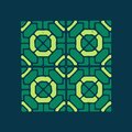 Mosaics color geometrical ornament