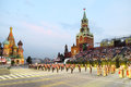 Moscow august orchestra armed forces jordan performs military music festival spasskaya tower august moscow russia Royalty Free Stock Photography