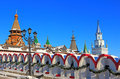 Moscow. Beautiful Kremlin in Izmailovo. Royalty Free Stock Photo