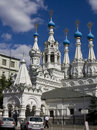 Moscow, church of St. Maria's birth Royalty Free Stock Photography