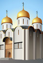 Moscow church vector Stock Image