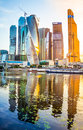 stock image of  Moscow city