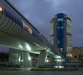 Moscow-city business center Royalty Free Stock Image