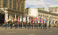 Moscow, festival of military orchestras Stock Photography
