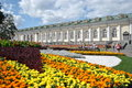 Moscow flowe bed zone of rest near kremlin and red square Royalty Free Stock Photos