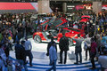 Moscow international motor show the Stock Photography