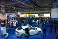 Moscow international motor show the Royalty Free Stock Images