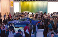 Moscow international motor show the Stock Images