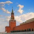 The Moscow Kremlin Royalty Free Stock Photo