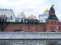Moscow Kremlin First Unnamed Tower  2011 Royalty Free Stock Photo
