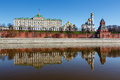Moscow Kremlin and Ivan the Great Bell Tower Royalty Free Stock Photo
