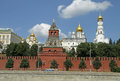 Moscow kremlin and kremlin embankment view from moskva moscow river moscow russia Royalty Free Stock Image
