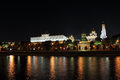 Moscow Kremlin at night. Stock Photography