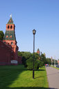 Moscow Kremlin Wall, Russia Stock Images