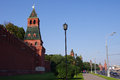 Moscow Kremlin Wall, Russia Royalty Free Stock Image