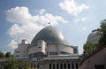Moscow planetarium russia on the background of sky Royalty Free Stock Photography