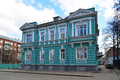 Moscow, Russia - March 14, 2016. The mansion Morozov in Gorokhovsky alley is architectural monument Royalty Free Stock Photo