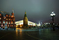 Moscow,Russia - November 19, Moscow Kremlin and the historical M Stock Photo
