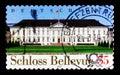 Bellevue Castle, Berlin, Bellevue Castle - Office of the Federal President serie, circa 2007 Royalty Free Stock Photo