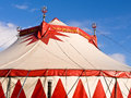 Moscow state circus big top of the against a blue sky shrewsbury england Stock Image