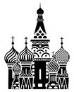 Moscow symbol - Saint Basils Cathedral, Russia
