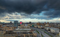 Moscow. View from above. Royalty Free Stock Photo