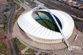 Moses Mabhida Stadium Royalty Free Stock Photo