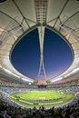 Moses mabhida stadium durban world cup was one of the stadiums used during the Royalty Free Stock Photography