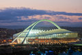 Moses mabhida stadium world cup was one of the stadiums used during the Royalty Free Stock Photo