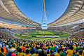 Moses mabhida stadium world cup was one of the stadiums used during the Stock Photos