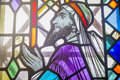 Moses stained glass mosaic