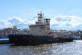 Moskva The Ice-Breaker Royalty Free Stock Photo