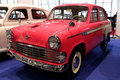 Moskvitch (Soviet-made automobile). Royalty Free Stock Image