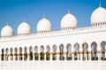 Mosque in Abu Dhabi Royalty Free Stock Photo