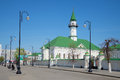 The mosque of Al-Marjani in the Old Tatar Sloboda, sunny may day. Kazan, Tatarstan Royalty Free Stock Photo